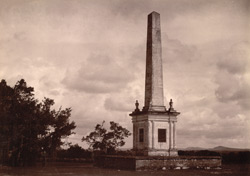 The Cenotaph of the officers of the 12th and 74th Regiments, Ganjam.